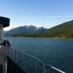 Catamaran ride from Juneau to Excursion Inlet, Alaska