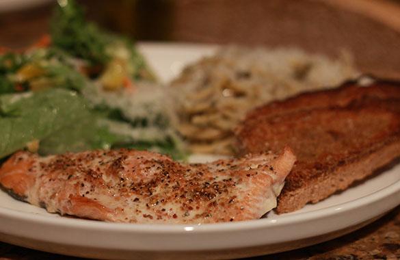 Salmon Fish Fry Recipe