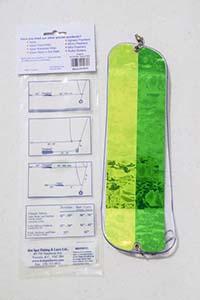 Yellow/Green Fishing Flasher