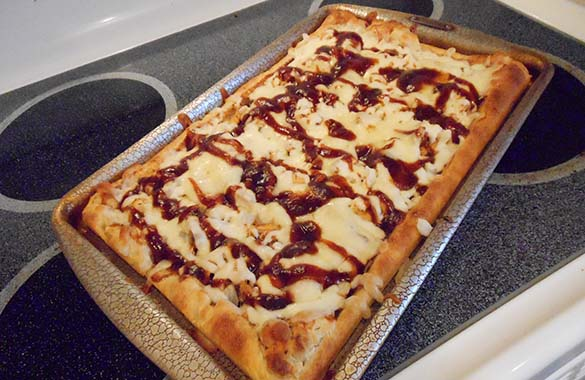 Halibut Pizza Recipe from Doc Warners